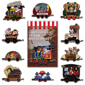 Disneyland® Resort Train Limited Release Mystery Box Set