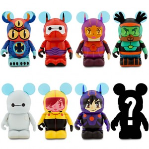 Vinylmation Big Hero 6 Series Figures