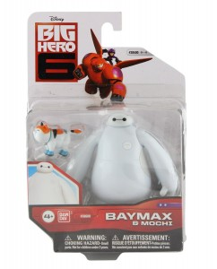 baymax big hero 6 action figure and mochi