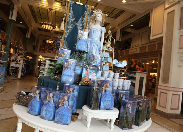 'Cinderella'-Inspired Products Receive a Royal Welcome at Disney Parks