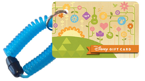 New Wearable Disney Gift Card Designed for Epcot International Flower & Garden Festival at Walt Disney World Resort