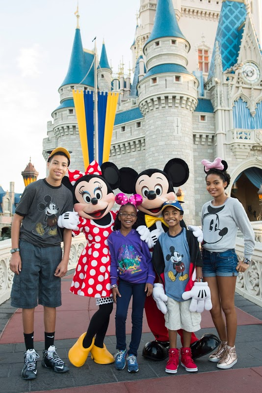 The Kids from 'black-ish' Prepare for the Coolest Summer Ever at Walt Disney WorldResort