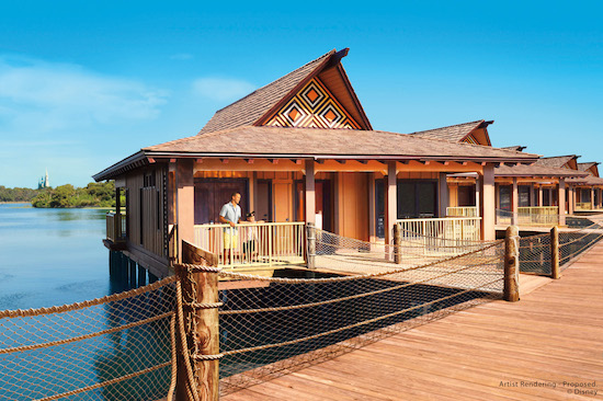 An Overwater Retreat at Disney's Polynesian Villas & Bungalows