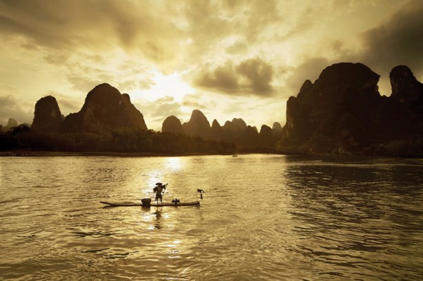 Sunrise on the Li River with Adventures by Disney