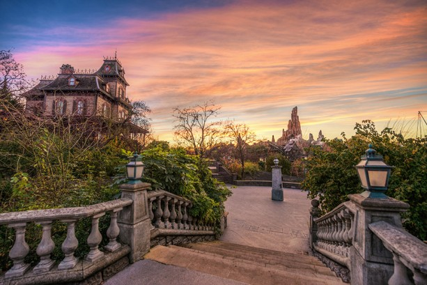 Daylight Strikes Phantom Manor at Disneyland Paris