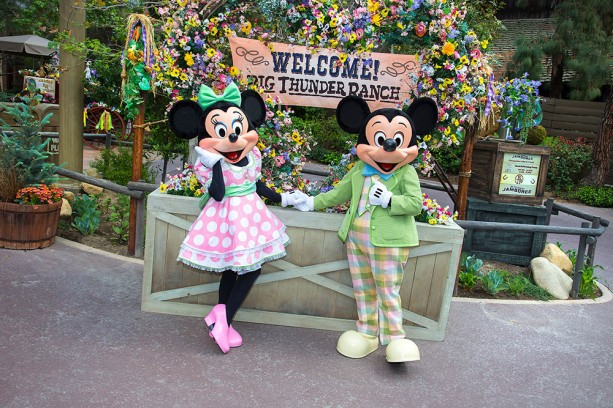 Springtime Roundup Blooms Once Again at Disneyland Park