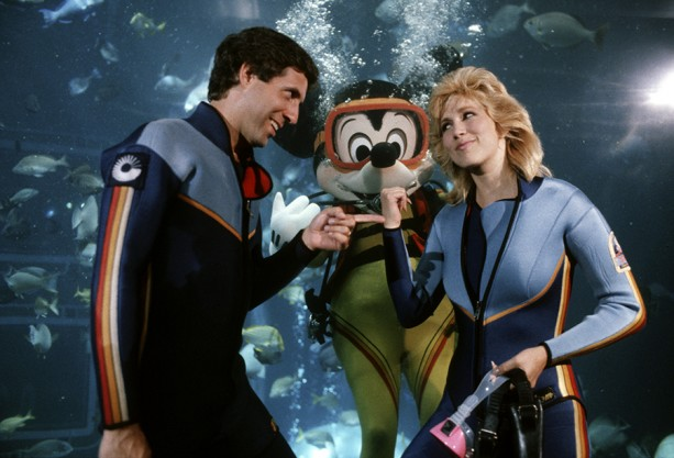 Caption This: Scuba Mickey Mischief at Epcot