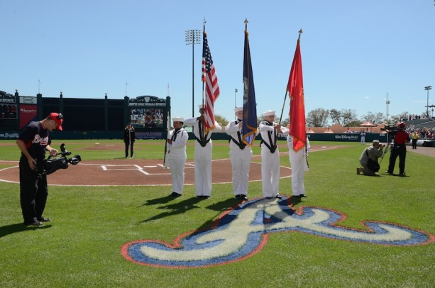Military Heroes to be Honored at Braves Spring Training Game at ESPN Wide World of Sports Complex at Walt Disney World Resort