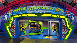 Buzz Lightyear Space Ranger Spin at Walt Disney World Resort