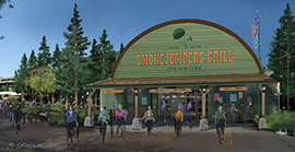 New Smokejumpers Grill Opens March 20, Part of Grizzly Peak Expansion at Disney California Adventure Park