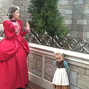 #DisneyKids: Young Girl Overcomes Shyness with Amazing Disney Side Costumes at Walt Disney World Resort