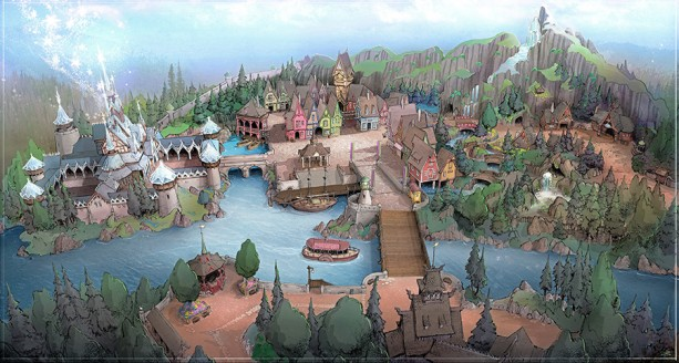 New Themes Announced for Tokyo Disney Resort Development