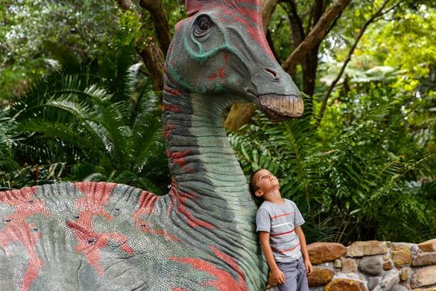 Caption This: Meeting Dinos at Disney's Animal Kingdom
