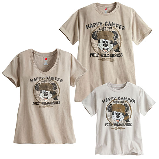 Be a Happy Camper with Limited-Release Shirts Coming to Disney Parks Online Store on April 27