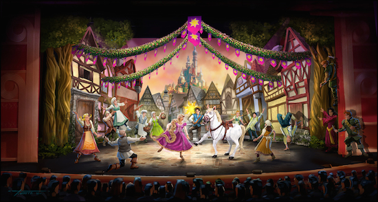 'Tangled: The Musical' Coming to Disney Cruise Line