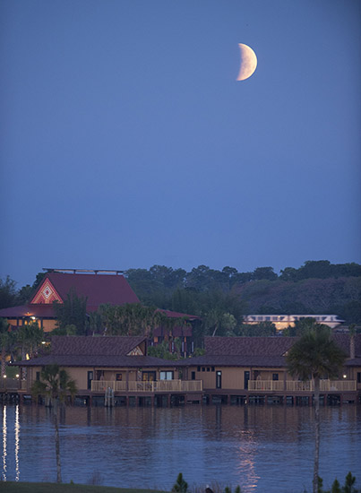 Behind the Scenes: Photographing a Blood Moon at Walt Disney World Resort
