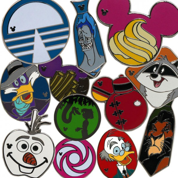 New Hidden Mickey Pins Coming to Disney Parks in April 2015