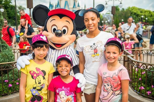 Little League Baseball Star Mo'ne Davis Shows Walt Disney World Resort How To 'ThrowLike Mo'