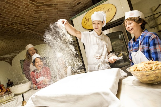 A Hands-On Strudel Demonstration in Austria with Adventures by Disney
