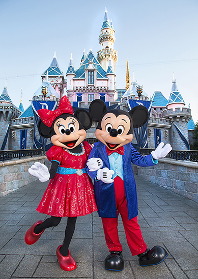 Mickey Mouse and Friends to Wear Sparkling New Ensembles for Disneyland Resort Diamond Celebration