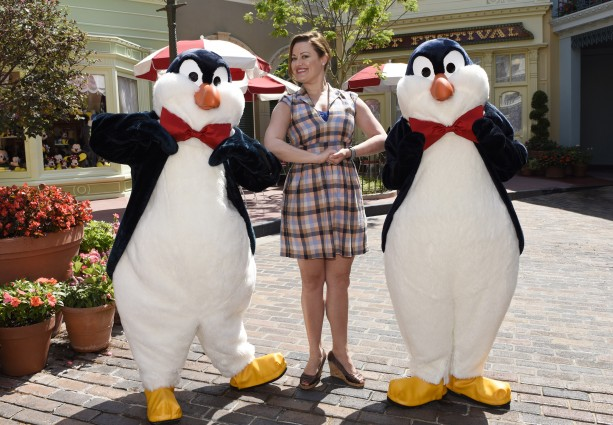 This Week in Disney Parks Photos: Ashley Brown's 'Practically Perfect' Parks Visit