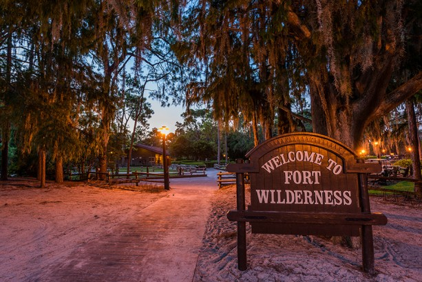 It's a Peaceful Morning at Disney's Fort Wilderness Resort & Campground at Walt Disney World Resort
