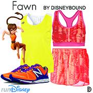 Tinker Bell Half Marathon Fawn DisneyBound Look