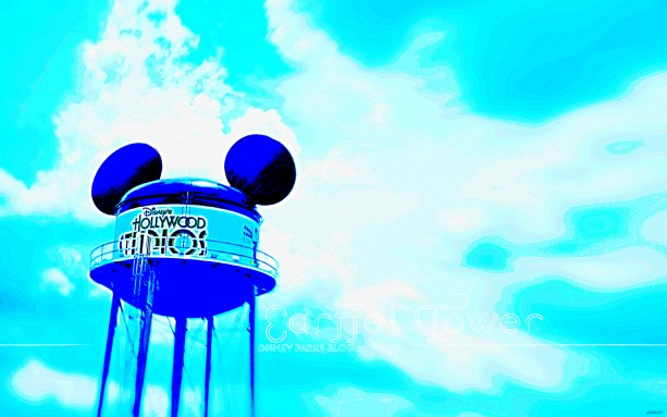 Celebrate Disney's Hollywood Studios With Our 'Earffel Tower' Wallpaper