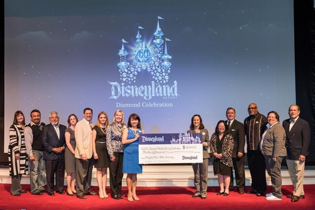 Disneyland Resort Celebrates 60th Anniversary, Grants More than $60,000 to Diversity Scholarship Funds