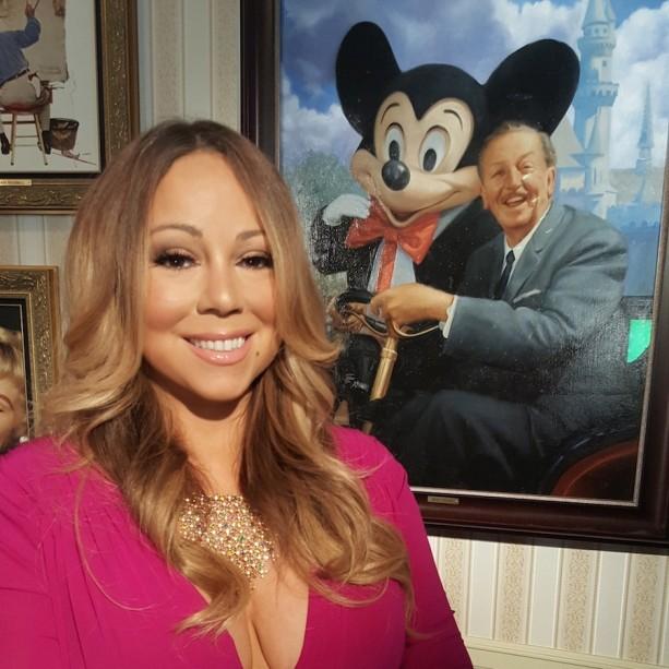Mariah Carey Kicks Off Disneyland Resort Diamond Celebration