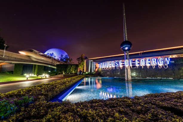 Disney Parks After Dark: The Universe of Energy