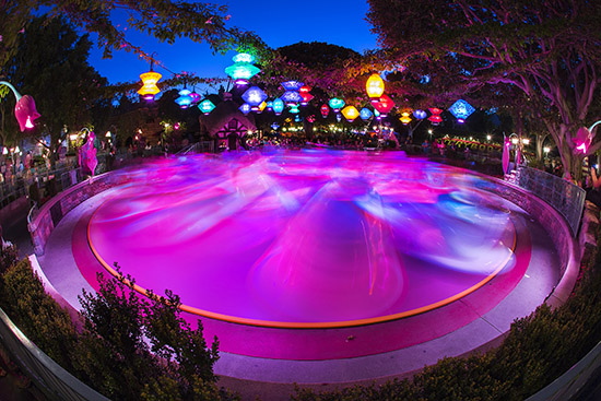 Disney Parks After Dark: Mad Tea Party at Disneyland Park