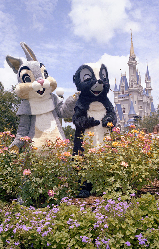 Disney Days of Past: 'April Showers Bring May Flowers' at Magic Kingdom Park