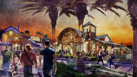 Jock Lindsey's Hangar Bar to Open this Fall at Downtown Disney at Walt Disney World Resort