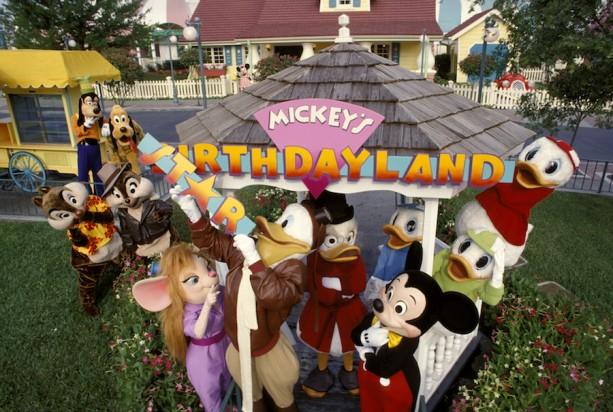 Disney Days of Past: Mickey's Birthdayland Becomes Mickey's Starland at Magic Kingdom Park