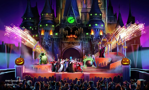 New Show at Mickey's Not-So-Scary Halloween Party Will Cast a Spell on You