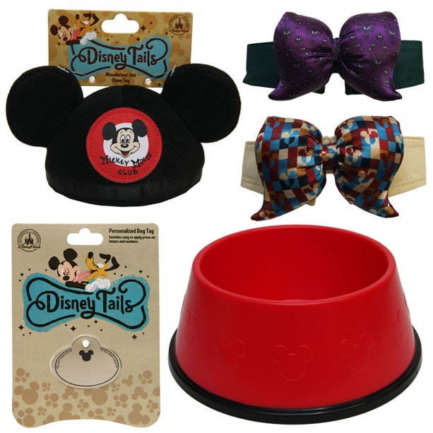 Fetch New Disney Tails Pet Products This Spring at Disney Parks