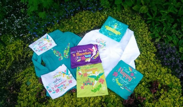 2015 Tinker Bell Half Marathon Merchandise Flies in for Mother's Day Weekend at the Disneyland Resort