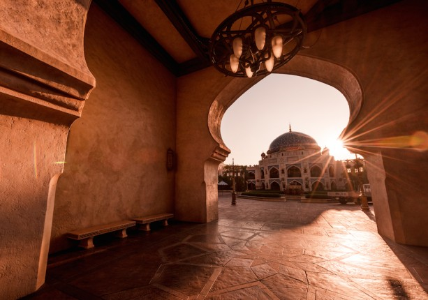 See the Sun Rise on the Arabian Coast at Tokyo DisneySea