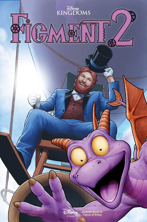 Dreamfinder and Figment Will Return in New Disney Kingdoms Comic Series This Fall