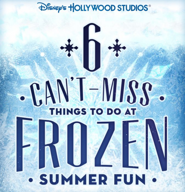 #DisneyKids: Frozen Summer Fun for Little Ones at Walt Disney World Resort