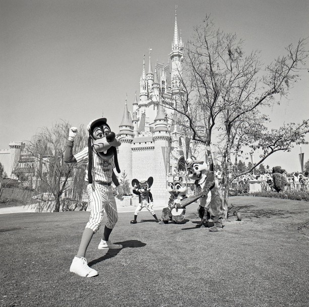 Caption This: Goofy Plays Ball at Magic Kingdom Park