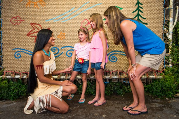 Say 'Wingapo!' to Pocahontas at Disney's Animal Kingdom