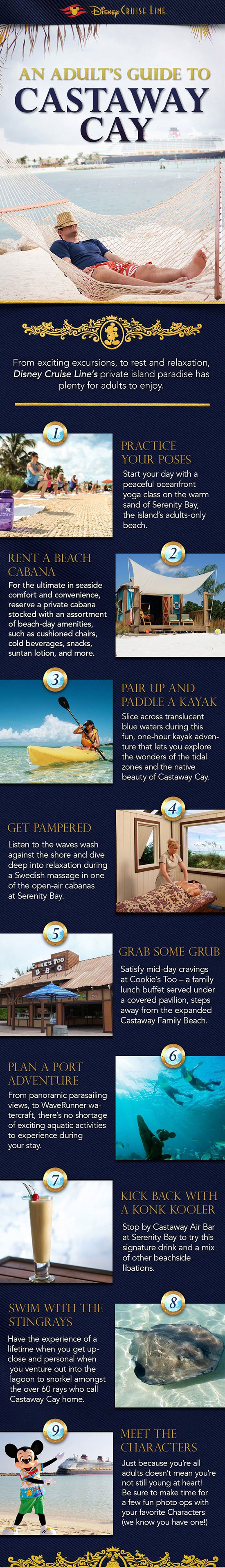 An Adult's Guide to Castaway Cay with Disney Cruise Line