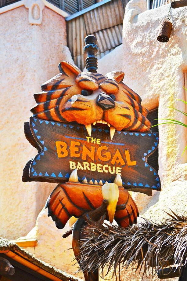 Bengal Barbecue Celebrates 25 Years at Disneyland Park