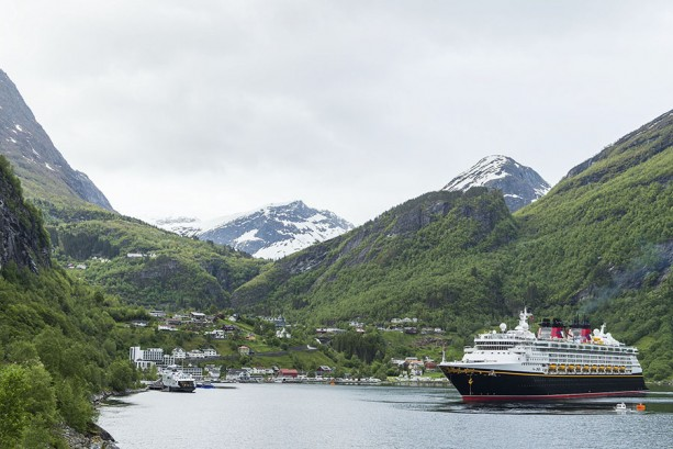 Disney Cruise Line Sails Through the Norwegian Fjord that Inspired Frozen's Arendelle