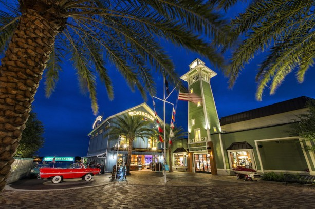 Disney Parks After Dark: The BOATHOUSE Shines at Downtown Disney at Walt Disney World Resort