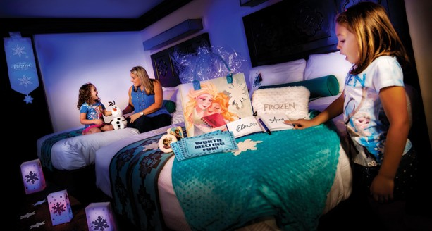 New Gift Packages Bring 'Frozen' to Your Disney Resorts Room