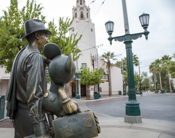 A Unique Point of View: 'Storytellers' Statue at Disney California Adventure Park