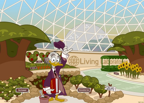 #DisneySide Doodles: Ludwig Von Drake Goes 'Behind the Seeds'